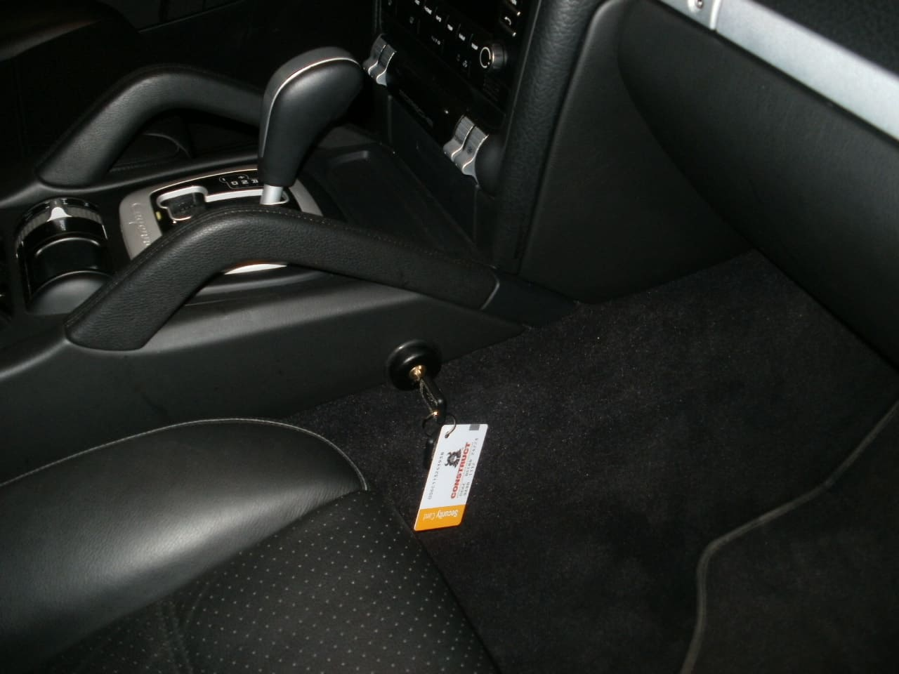 замок на кпп Porsche Cayenne