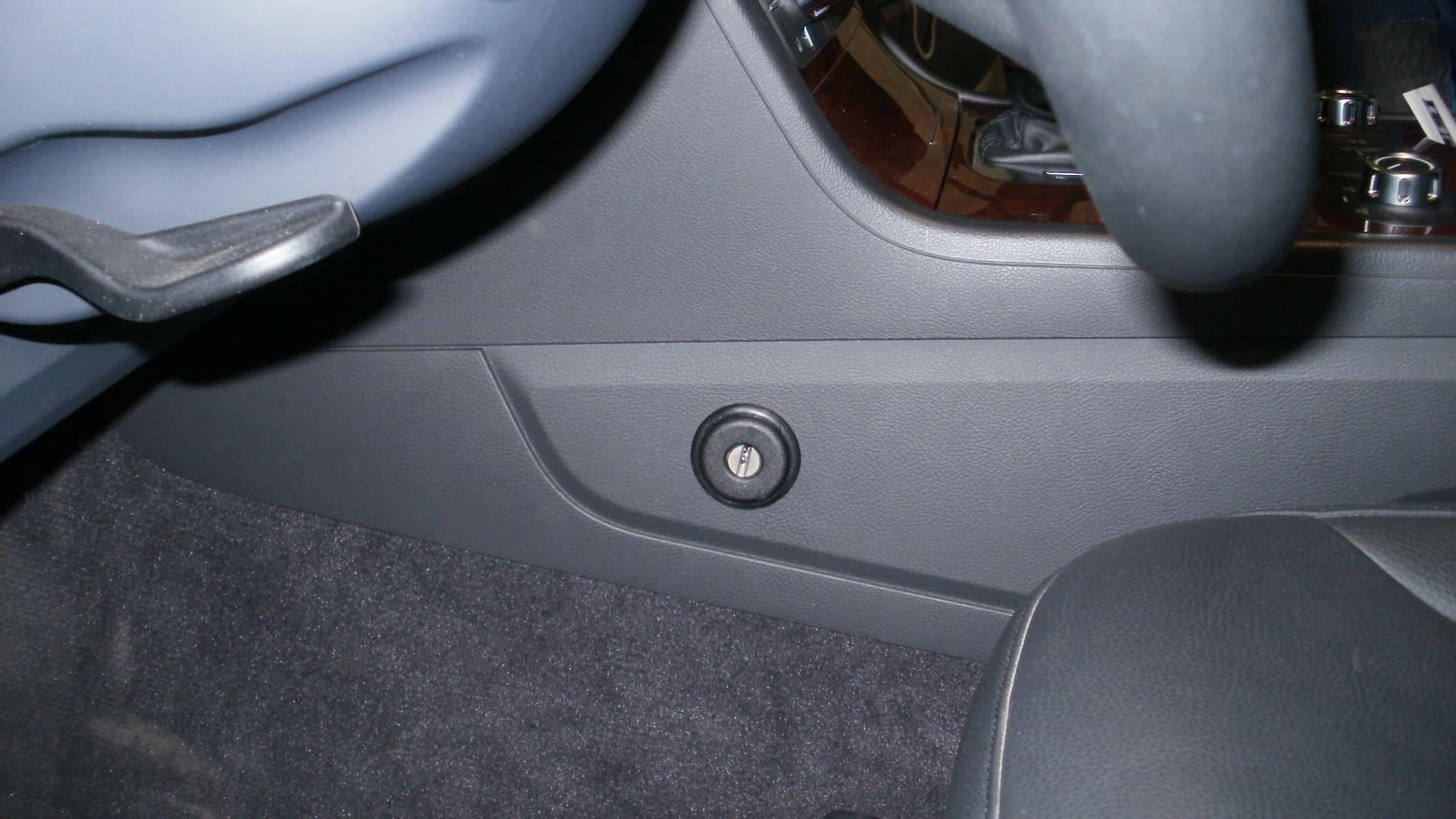 замок на кпп Volkswagen Touareg