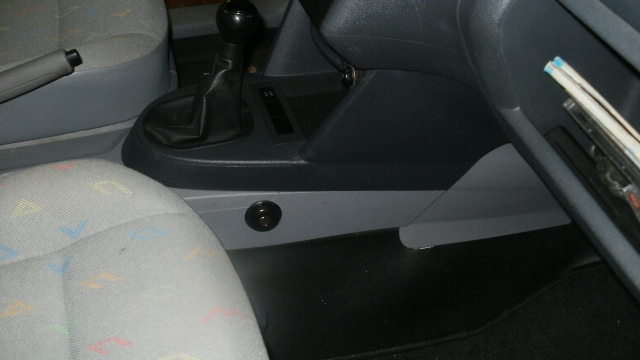 замок констракт на Volkswagen Caddy