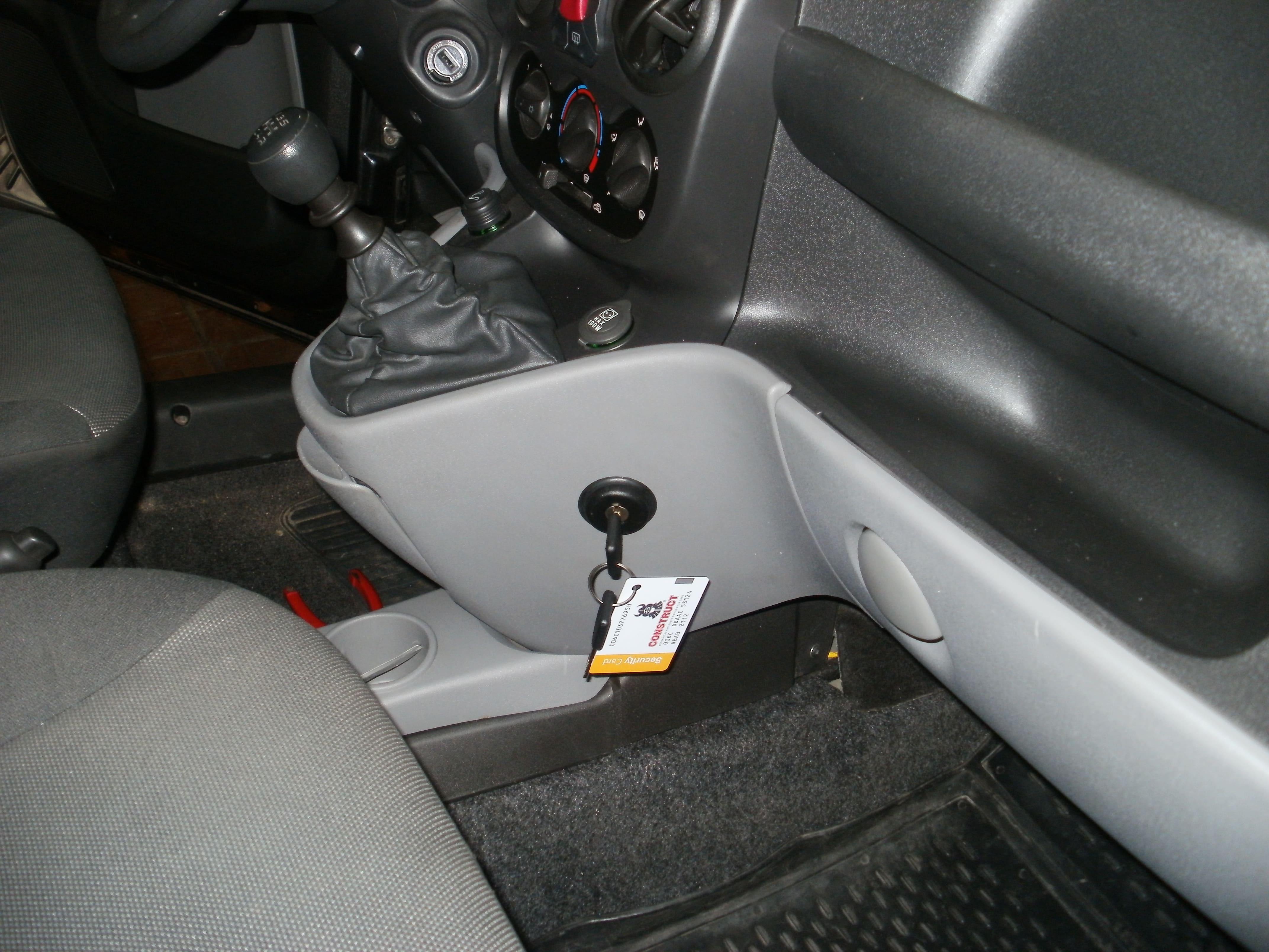 замок кпп констракт на Fiat Doblo