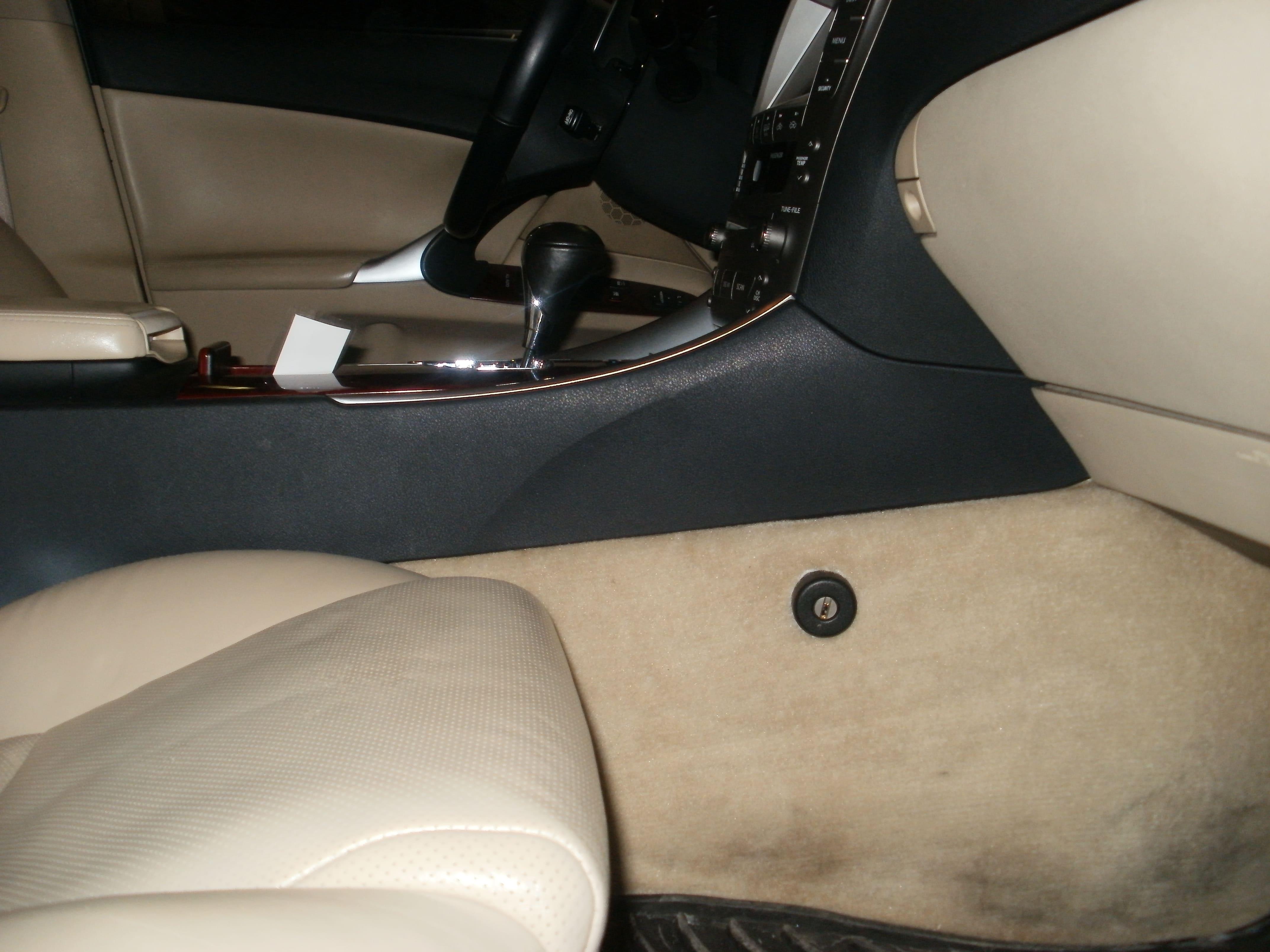 замок констракт на Lexus IS 250