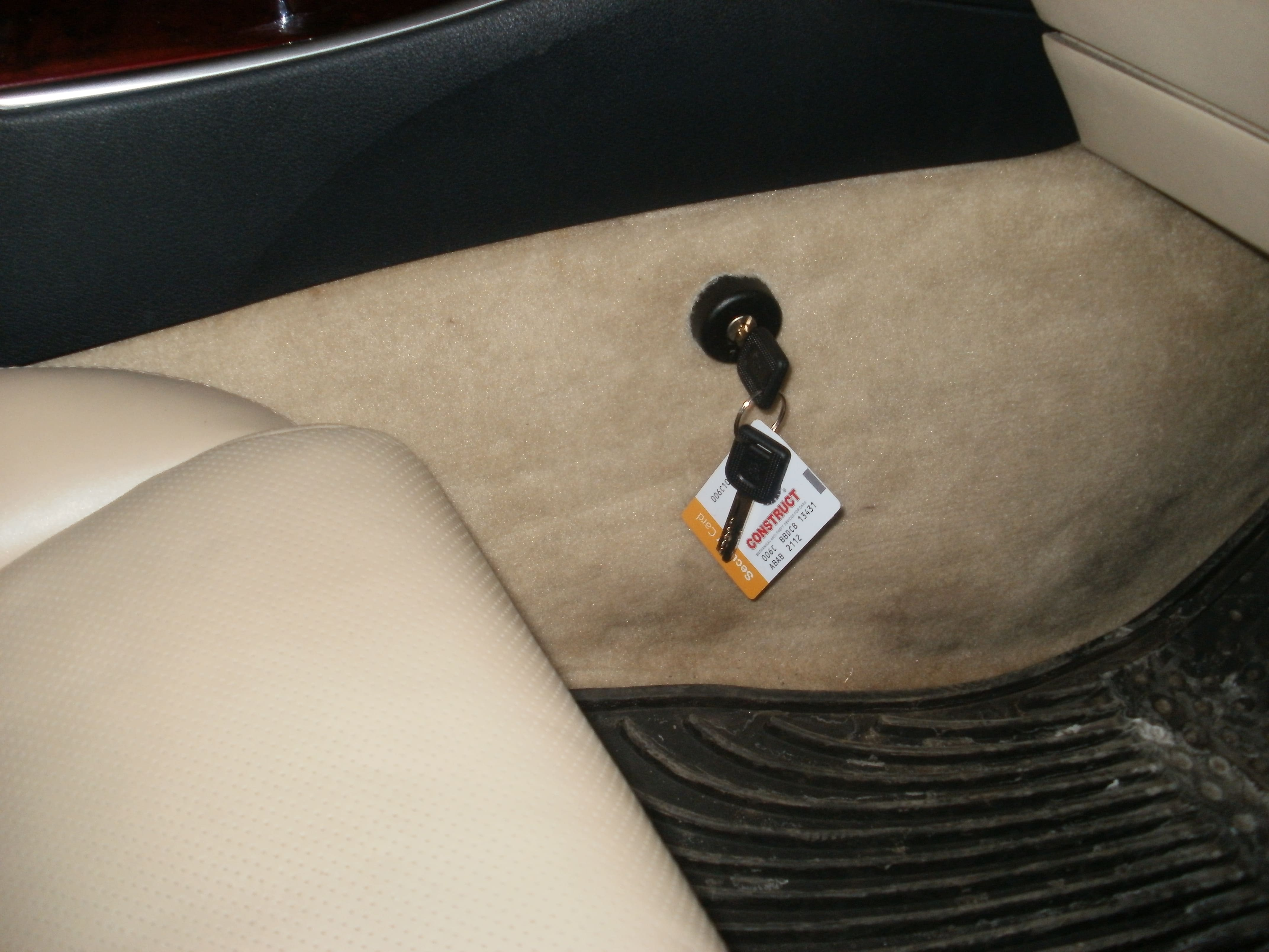 замок кнстракт на Lexus IS 250