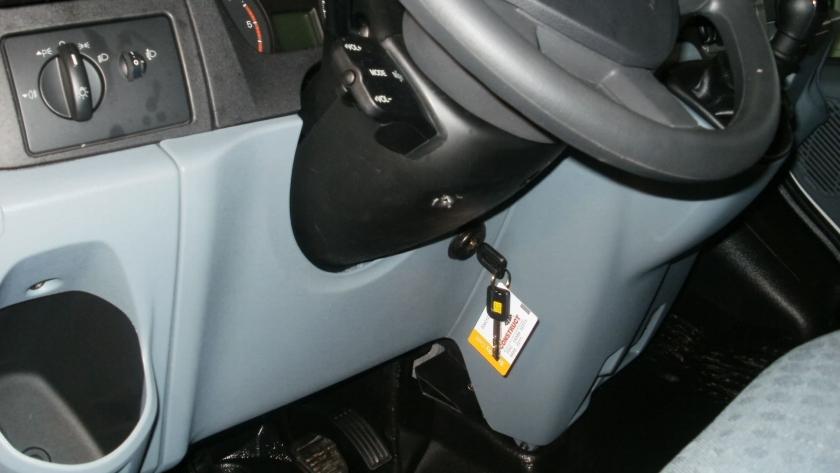 замок констракт на Ford Transit