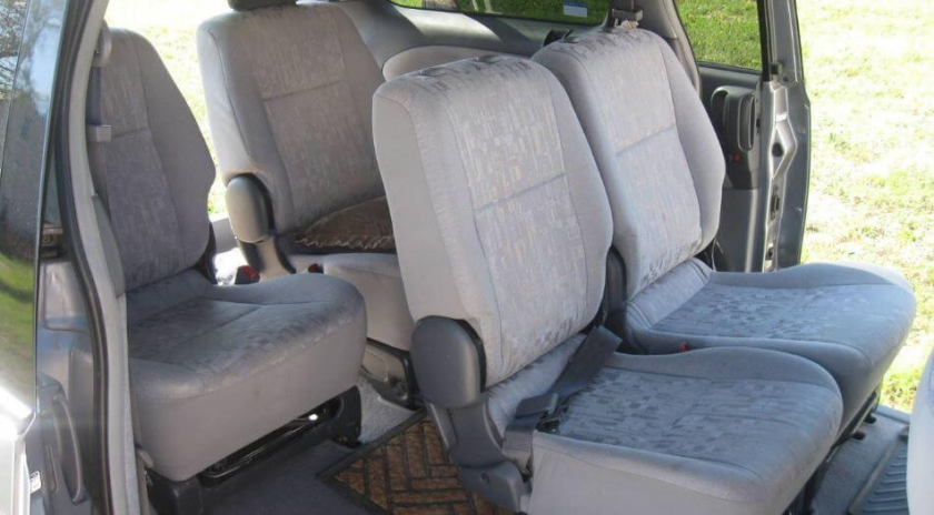 Установка подогрева сидений Емеля УК-2 на Toyota Previa