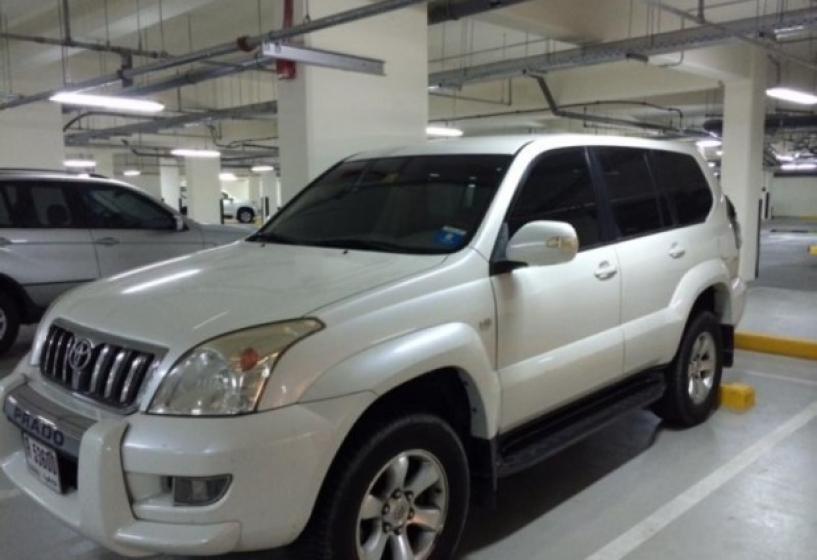 замок кпп на Toyota Land Cruiser Prado